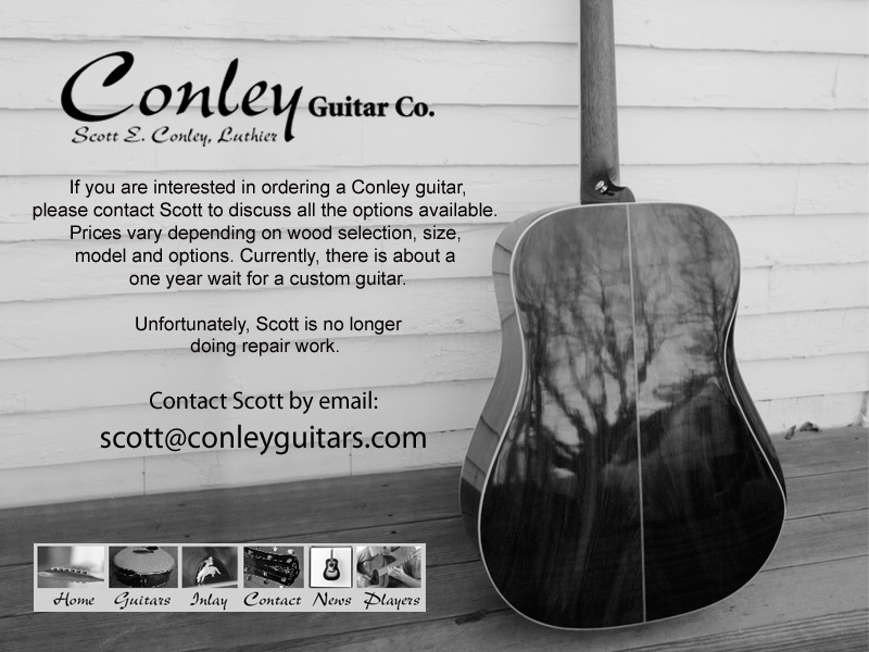Conley Guitars Contact